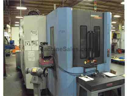 2007 Doosan HP 4000 CNC Horizontal Machining Center