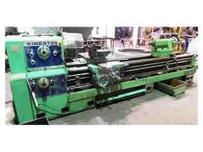 "Kingston Engine Lathe 30"" X 120"" Centers  *Top Condition Installe"