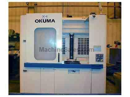 OKUMA MX-40HA 4-Axis CNC Horizontal Machining Center