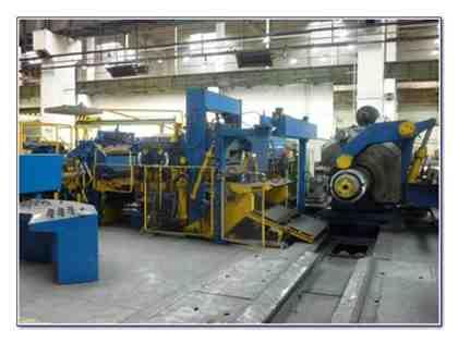 "55"" (1400mm) SUNDWIG SLITTING LINE"