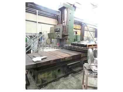 TOS WHN D13 13A Manual Table Type Boring Mill with DRO All Tooling & Op