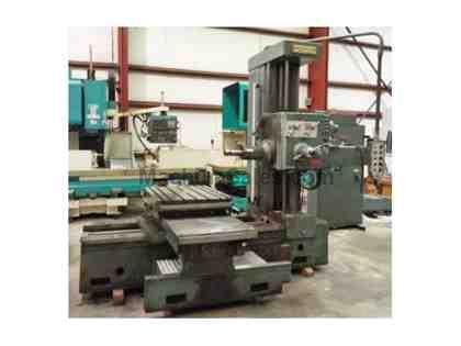 "3"" WOTAN Table Type Horizontal Boring Mill"
