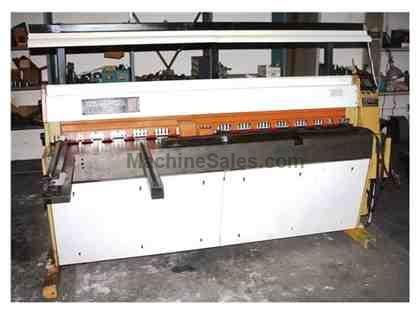 "6'6"" x 5/32"" (4mm) EDWARDS® Guillotine Type Power Shear"