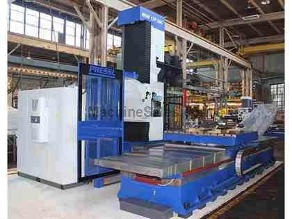 TOS WHN 13.8P CNC TABLE TYPE HORIZONTAL BORING MILL REMANUFACTURED 2015