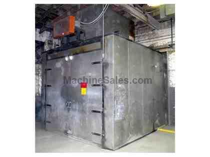 GEHNRICH 500 F GAS FIRED WALK IN OVEN 9'W 12'L 8'H