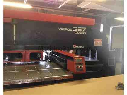 33 Ton Amada Vipros 367 Queen CNC Turret Punch