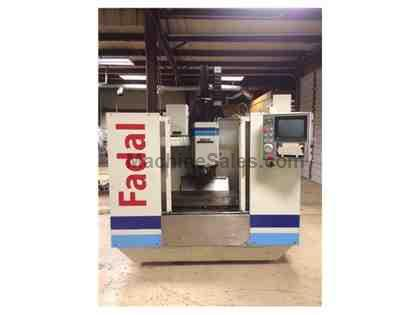 Fadal VMC40 CNC Vertical Machining Center 5th Axis, 1990 Used Fadal VMC 40