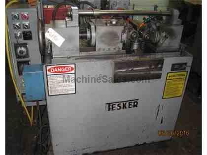 TESKER MODEL 175 CYLINDRICAL THREAD ROLLER