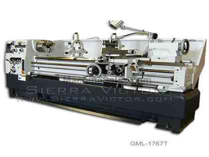 "17"" x 80"" GMC® High Precision Gap Bed Lathe"