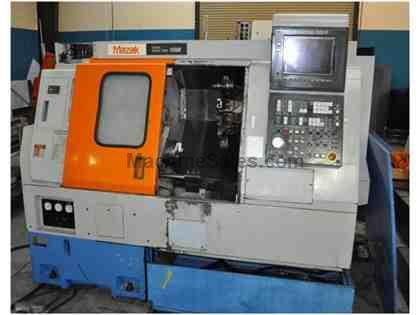Mazak SQT10M CNC Turning Center Lathe Full C Axis