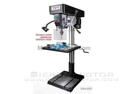 "17"" JET® Industrial Belt Drill Press: IDP-17"