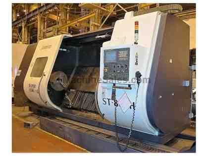 JOHNFORD ST-80CH Large Capacity CNC Slant Bed Lathe