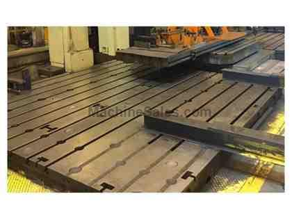 "(4) 69"" x 138"" x 14"" T-Slotted Floor Plates"