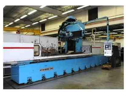 "44"" x 160"" DANOBAT CNC Surface & Way Grinder"