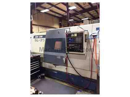 MORI SEIKI Model: SL-35B/750, Two Axis CNC Turning Center