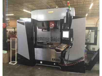 5-Axis Vertical Machining Center, 2016 Pinnacle BX-500 w/ Built-in Rotary