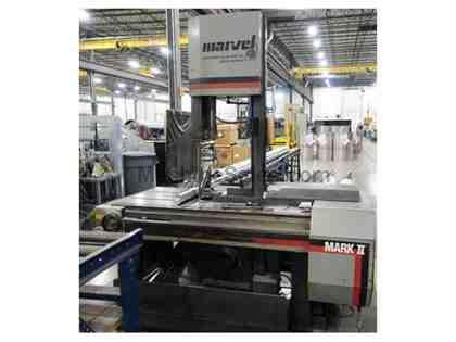 "18"" X 28"" Marvel 8 Mark II High Column Vertical Band Saw"