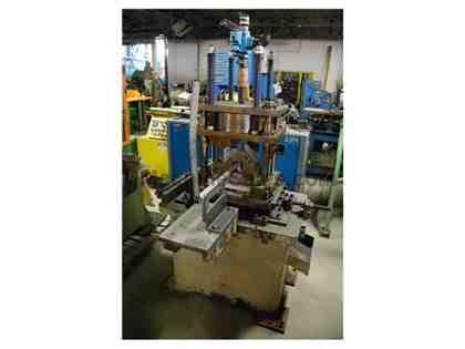 "12 Ton x 3"" CONTOUR 4-Post Air Cut-Off Press"
