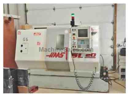 "HAAS SL-20T, 1999, 8"" CHUCK, TAILSTOCK, CHIP AUGER, RIGID TAPPING, TOOLING"