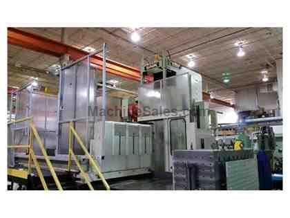 "90""X, 80""Y, 67""Z, SNK PRS-165/6, 2003, 6-AXIS, TRAVELLING COLUMN, FANUC"