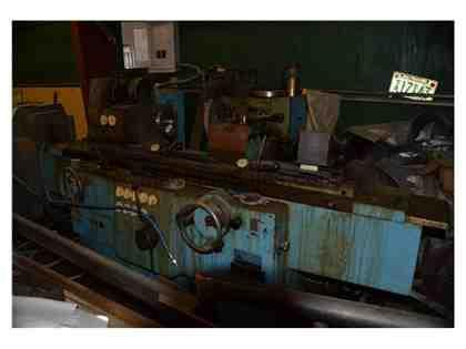 TOS Cylindrical Grinder BHU 25 / 1000  NEEDS HYDRAULIC REPAIR