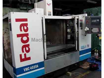 FADAL VMC4020A 4 Axis Vertical Machining Center, 2000