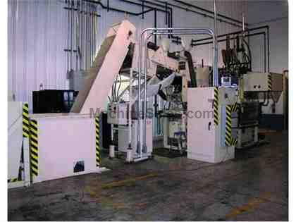 B&G PLASTICS MODEL BGP-RHBXT-4-36 BLOW MOLDING MACHINE