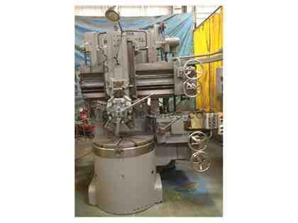 "36"" Bullard Cutmaster VTL, 36"" 3-Jaw Chuck, Side Head,  5-Station Turret"
