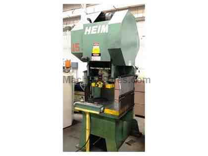 70 TON HEIM MODEL G1-7034 BACK GEARED GAP FRAME PRESS