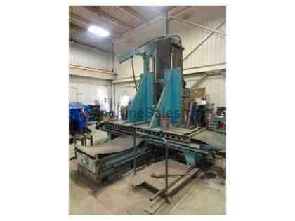 "5"" GIDDINGS & LEWIS FRASER MODEL 80G130T  HORIZONTAL BORING MILL"