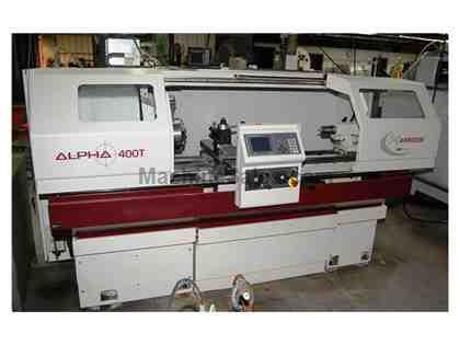 HARRISON ALPHA 400T CNC GAP BED TURNING MACHINE