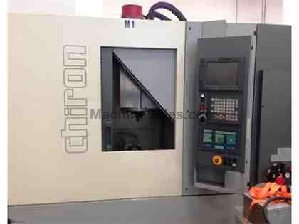 CHIRON FZ-08 W HIGH SPEED VERTICAL MACHINING CENTER