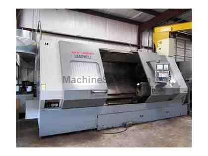 "31-1/2"" X 80"" LEADWELL MODEL LTC50-BL HEAVY DUTY CNC TURNING CENTER"