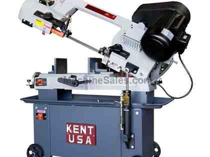 "7"" x 10.2"" KENT USA W-712SB HORIZONTAL BAND SAW - NEW"