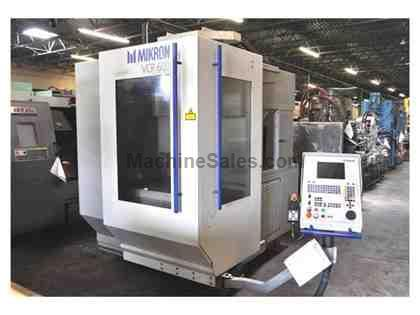 MIKRON HIGH SPEED VERTICAL MACHINING CENTER