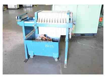 JWI MANUAL HYDRAULIC FILTER PRESS