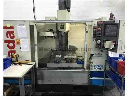 2000 Fadal VMC-4020HT Extended Z-Axis with Fadal VH-5C Indexer