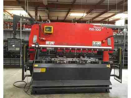"AMADA-RG-100,110-TONS,120""BED,3-AXIS CNC,ELECTRIC-FOOT-SWITCH,AMADA-NC"