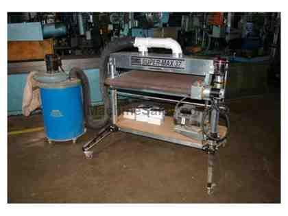 "37"" PERFORMAX SUPERMAX 37 SINGLE DRUM SANDER"