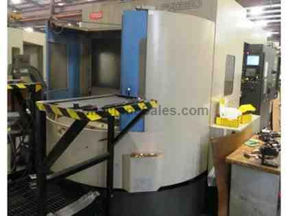 2007 Toyoda FA630 4 Axis Horizontal Machining Center Fanuc 18-MB