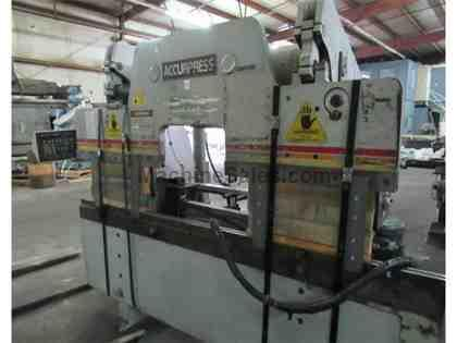 "60 Ton x 72"" ACCURPRESS Hydraulic Brake Press, Automec Back Gauge"