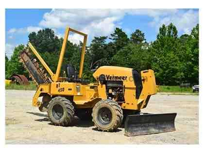 2005 VERMEER RT450 DITCH WITCH