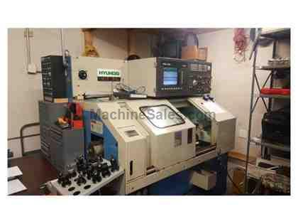 HYUNDAI, HiT 8S, CNC LATHE NEW: 1995