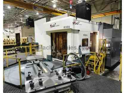 2007 Cincinnati Mag Model HPC1000XT 4-Axis CNC Horizontal Machining Center