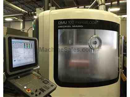 DMG DMU 100 monoBLOCK 5-Axis Universal Machining Center