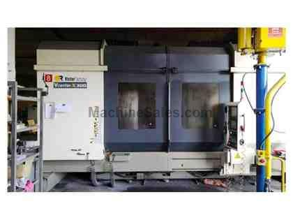 Victor Vturn X-300 5 Axis Vertical Machining Center 2012