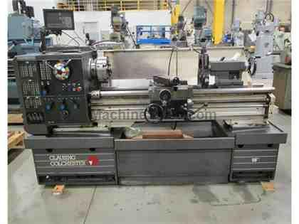 "1995 CLAUSING COLCHESTER 8043 STRAIGHT BED, GEARED HEAD LATHE, 15"" x 5"