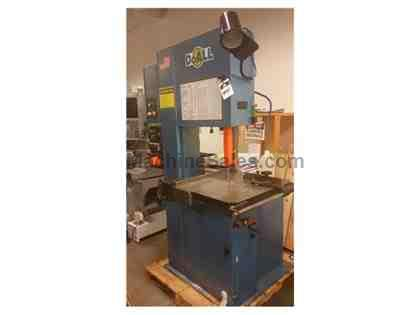 Surplus, LIKE NEW, DoAll Vertical Bandsaw, Model 2013-V3, 2006
