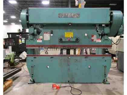 1990 WYSONG MODEL 90-8 MECHANICAL PRESS BRAKE, 90 TON  X 10'
