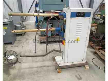 USED A & E MODEL NKLF-46 SPOT WELDER WITH ROCKER ARM, 45 KVA